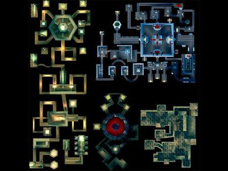 Twilight Temple Map