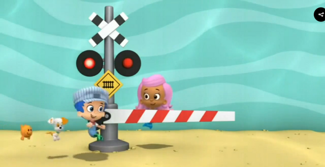 File:Bubble Guppies Triple Track Train Race Railroad Crossing Signal 1 04.png