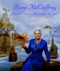 Anne McCaffrey tribute