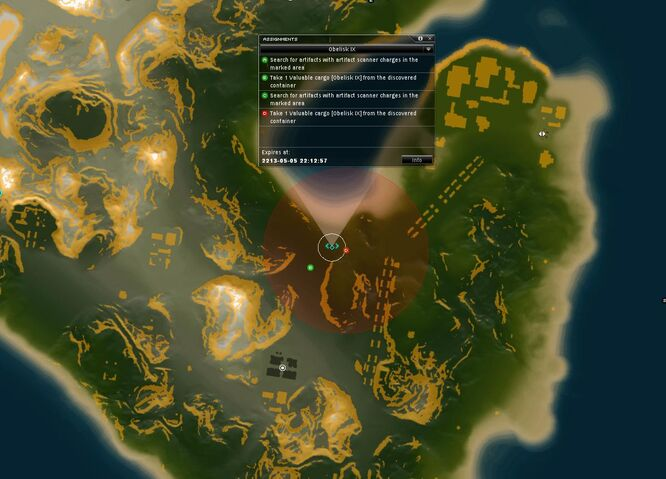 Obelisk IX Map