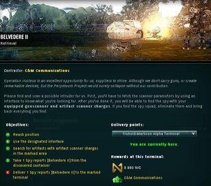 Belvedere II Info