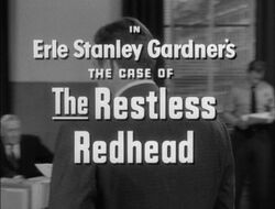 Restless redhead title