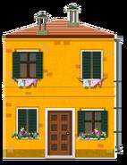 Yellow Venetian House Decal