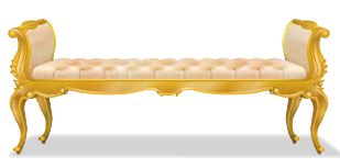 File:Gold rococo chaise lounge.png