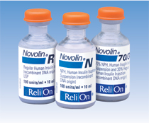 Insulin bottles