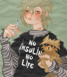 File:No insulin no life logo.png