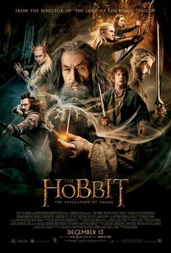 Hobbit the desolation of smaug poster
