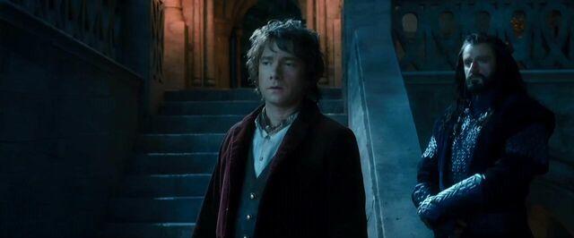 File:Bilbo and Thorin overhearing.jpg