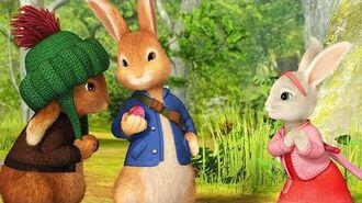Peter Rabbit - English Full Episode - Fruit & Veggie Downhill Dash Game