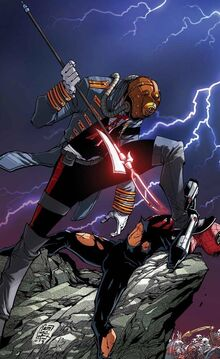 Karn from Superior Spider-Man Vol 1 33 (cover)