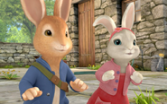 Happy-Peter-Rabbit-And-Lily-Bodtail-Togther