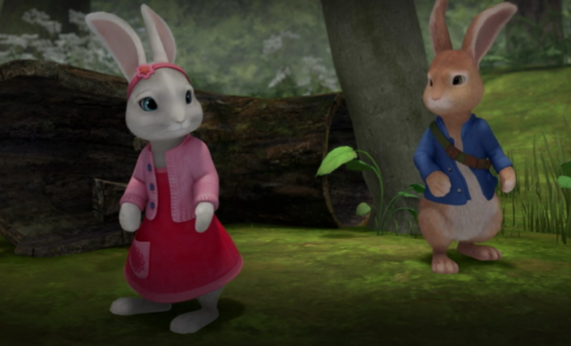 File:Peter-Rabbit-And-Cotton-Tail-In-Forest-Image.png