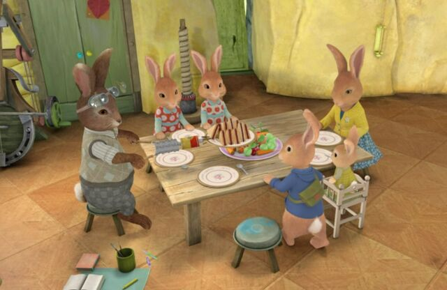 File:Rabbit-And-Bunny-Family-Dinner-Image.jpg