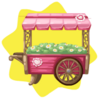 Valentine daisy stall