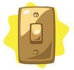 Golden light switch