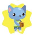 Sporty cat doll