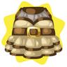 Mon petit cheri brown dress