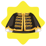 Gold stage top