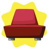 Modern luxury armchair