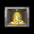 Secret vault painting treasure