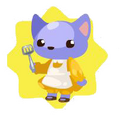 Mommy cat doll