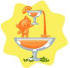 Orange Juice Fountain