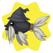 Gray wizardfish