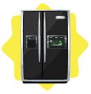 Dreamy double door refrigerator