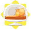 Groovy armchair