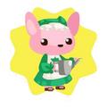 Mommy bunny doll
