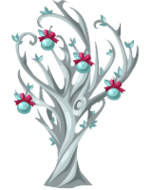Silver Winter Tree