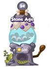 Stone age mystery egg machine