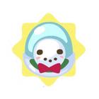 Snowman ornament mystery egg