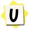 U sticker