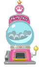 Fairy tale mystery egg machine
