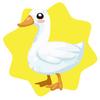 Farm duck plushie