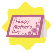 Mothers day cute card