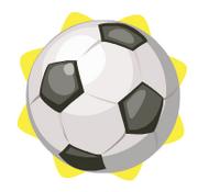 Bouncy soccer ball