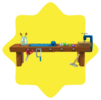 Toy shop workbench
