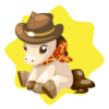 Country horse plushie