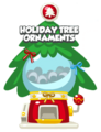 Holiday Tree Ornament Mystery Egg Items