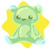 Ghostly bear plushie