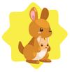 Kangaroo plushie