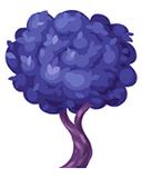 Romantic bee tree