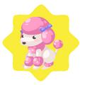Pink Dog Plushie