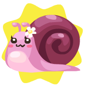 Small marby snail