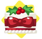 Mini festive cake