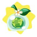 Green earth fruit