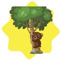 WWF Grizzly Bear Tree Decoration
