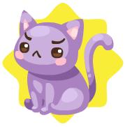 Moody kitty